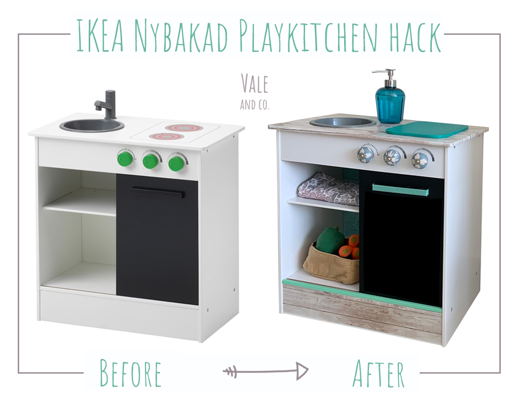 Cucina Piccola Angolare Ikea ikea nybakad play kitchen hack – vale and co.